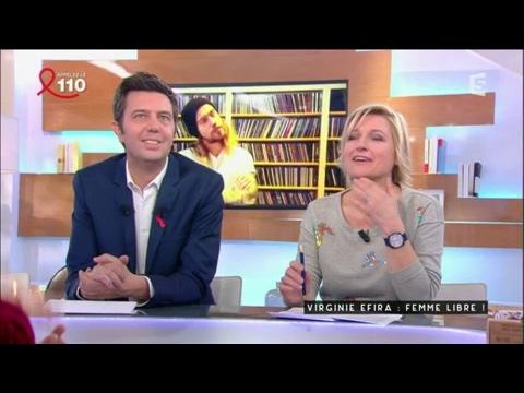 Virgine Efira : Femme libre - C à vous - 24/03/2017