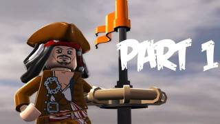 Lego Pirates of the Caribbean: Walkthrough Part 1 - Let's Play (Gameplay & Commentary)