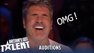 When Judges Get Roasted By The Queen...MUST WATCH! Auditions | Britain's Got Talent 2019