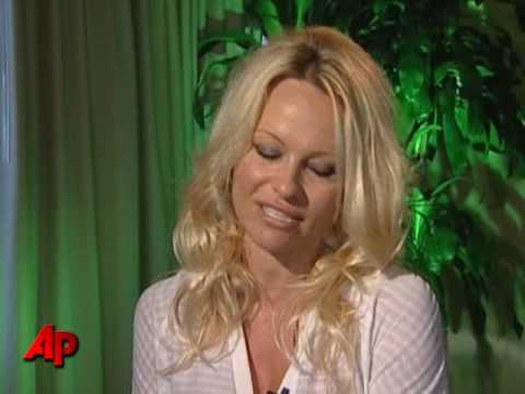 Pamela Anderson Gets Frisky for PETA