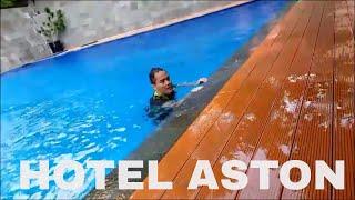 Samsung J5 Video Test : Swimming at Aston Hotel