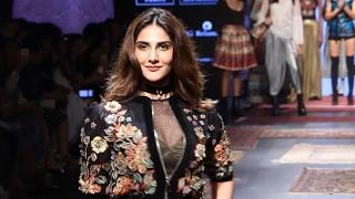Vaani Kapoor Hot Bouncy Ramp Walk At Lakme Fashion Show 2017