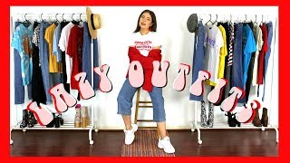 Look Cute With NO Effort! Styling Jeans & T Shirts