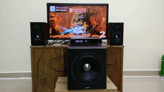 Gene Edifier S350DB 2.1 Speaker Sound Test with Choir, Violin, Flute and Drums