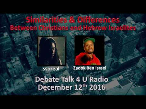 ssoreal and Zadok Ben Israel   The Sit Down   Similarities and