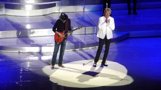 I'd Rather Go Blind - Rod Stewart & Carlos Santana, Jones Beach 8/20/2014