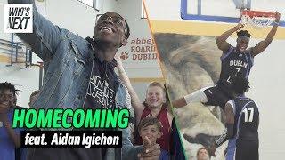 Aidan Harris Igiehon Is Irish Basketball