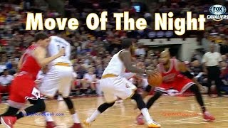 Kyrie Irving's Crossover-Pullup Jumper Footwork: Move-Of-The-Night #96 | Dre Baldwin