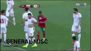 مغرب ضد تونس وهدف ساحق تعليق حفيص الدرجي