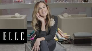 Sarah Jessica Parker Tries on 14 Fabulous Shoes in 90 SECONDS!