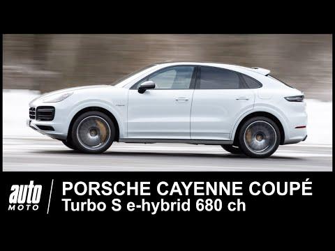 Porsche Cayenne Coupé Turbo S e hybrid 680 ch ESSAI POV Auto Moto