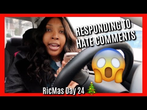 Xxx Mp4 RESPONDING TO HATE COMMENTS NATURAL HAIR NAZIS FOOT FETISHES VLOGMAS DAY 24 3gp Sex