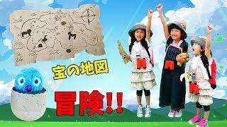 れのれらちゃんと冒険だ!!伝説の輝くウーモを探せ!!うまれて!ウーモ☆キララメガーデン☆himawari-CH