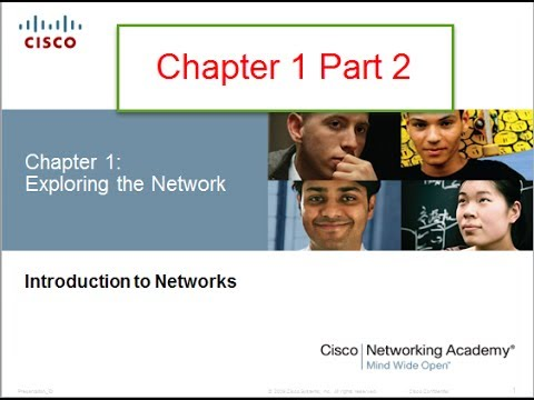 NETACAD Chapter 1. v5.0 Introduction to Networks Part 2