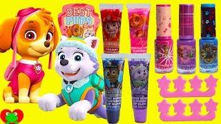 Paw Patrol Cosmetics Set and L.O.L. Surprise! Dolls
