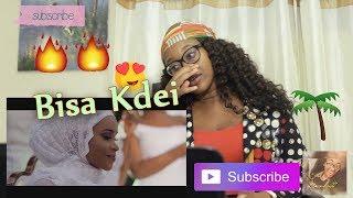 Bisa Kdei - FEELING (Reaction) by #IamSabyna