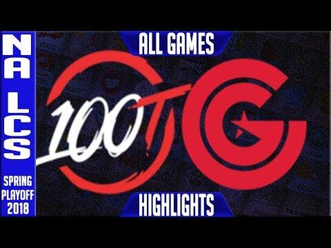 Xxx Mp4 100 Vs CG Playoffs Highlights ALL GAMES NA LCS Semi Final Spring 2018 100 Thieves Vs Clutch Gaming 3gp Sex
