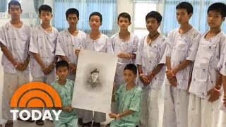 Thai Soccer Team Mourns Diver Lost In Rescue, Doctor Prescribes Family Time For The Boys   TODAY