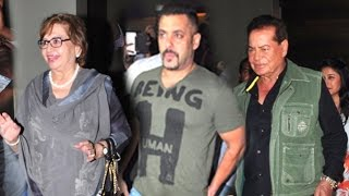 Salman Khan Watches SULTAN Movie With Family