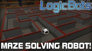 Maze Solving Robots! (LogicBots #05)