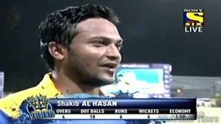 Shakib al Hasan 6 wickets vs Trinidad & Tobago Red Steel CPL T20