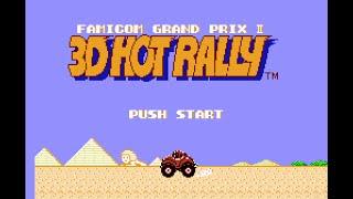 NES Longplay [347] Famicom Grand Prix II: 3D Hot Rally