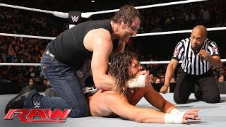 Dean Ambrose vs. Dolph Ziggler - Money in the Bank Qualifier: Raw, May 23, 2016