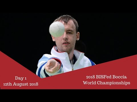 Day 1 | 2018 BISFed Boccia World Championships