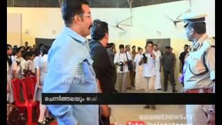 Rishiraj Singh and Ramesh chennithala meeting after controversy