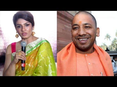 Raveena Tandon Very Angry Speech On Yogi Adityanath - Rape Case In Up