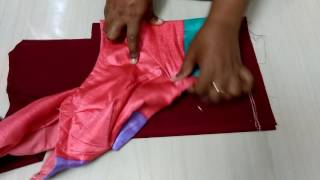 Blouse cutting in Tamil Sleeve part