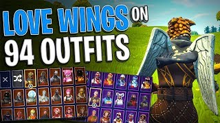 Love Wings Back Bling on 94 Outfits   Buy Love Ranger Now - Fortnite Cosmetics