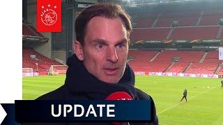 Ronald de Boer: 'Ajax heeft 50 procent kans'.