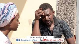 Passionate kiss - (Comedy made in Africa)