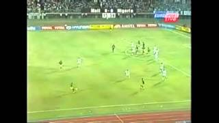 Nigeria vs Mali 2002 first round