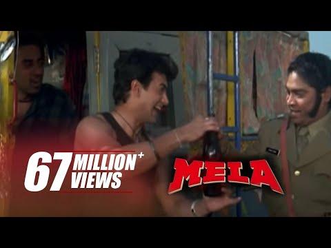 Johnny Lever Drinks Aamir Khan's Piss | Funniest Scene | Mela