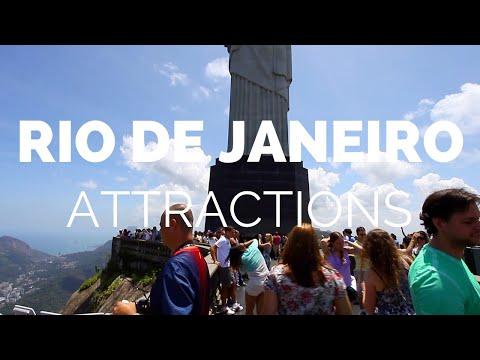 10 Top Tourist Attractions in Rio de Janeiro Travel Video