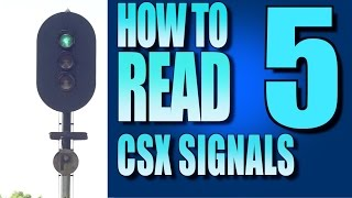 How To Read Signals On The CSX Part 5 - ABS Signals