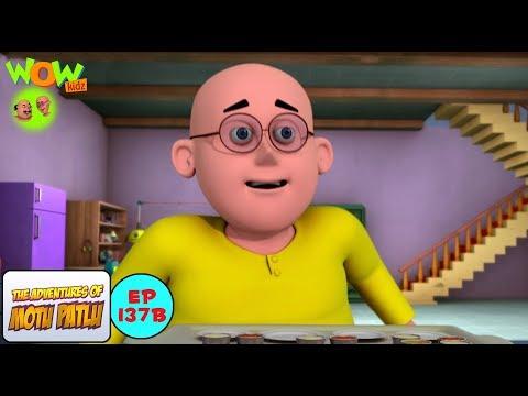 Bhukkad Patlu - Motu Patlu in Hindi - 3D Animation Cartoon for Kids -As seen on Nickelodeon