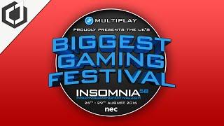 INSOMNIA 58 GAMING FESTIVAL! - I AM GOING!!!!