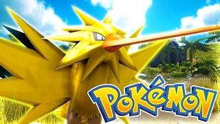 Surprise Zapdos Appearance! (Ark Pokemon)