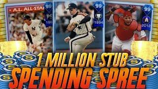 1 MILLION STUB SPENDING SPREE! MLB THE SHOW 17 DIAMOND DYNASTY SPENDING SPREE