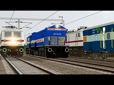 Xxx Mp4 Loco Change Diesel To Electric TVC Express MSTS Open Rails 3gp Sex
