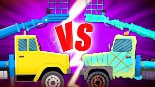 Good Vs Evil | Light Repair Truck | Street Vehicle Videos For Kids