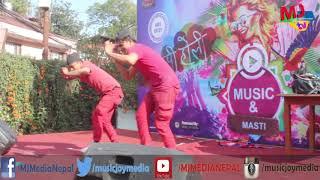 Oye Jhuma Jhumkawali | Funtastic | Asmik Lamsal & Bishal Nepali || GAB5 2017