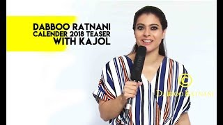 Kajol For Dabboo Ratnani 2018
