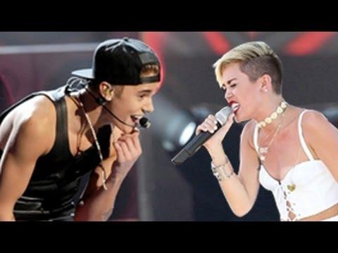 Justin Bieber Vs. Miley Cyrus Dance