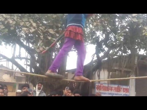 A Poor Girl Showwing Her Talent in Achintala Kaliachak Malda