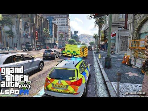 GTA 5 LSPDFR 0.3.1 - EPiSODE 249 - LET'S BE COPS - BRITISH PATROL (GTA 5 PC POLICE MODS)