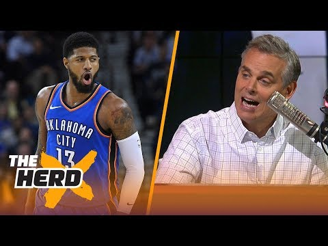 Xxx Mp4 Colin Cowherd On Why Paul George Is The Key For Lakers Landing LeBron And Kawhi NBA THE HERD 3gp Sex